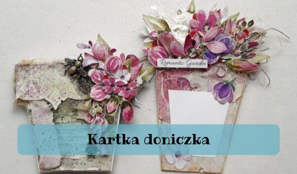 kartka doniczka, Kartka doniczka – TUTORIAL