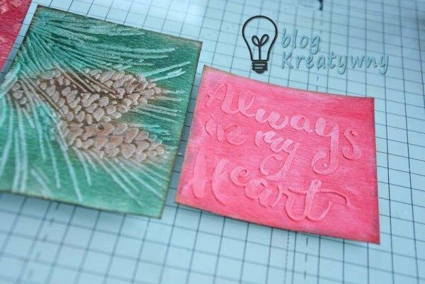 Barwienie papierów do użycia w scrapbookingu