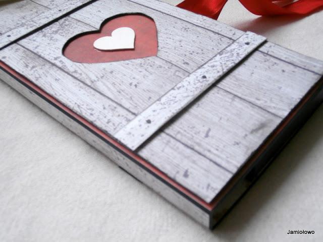 czekoladownik z sercem