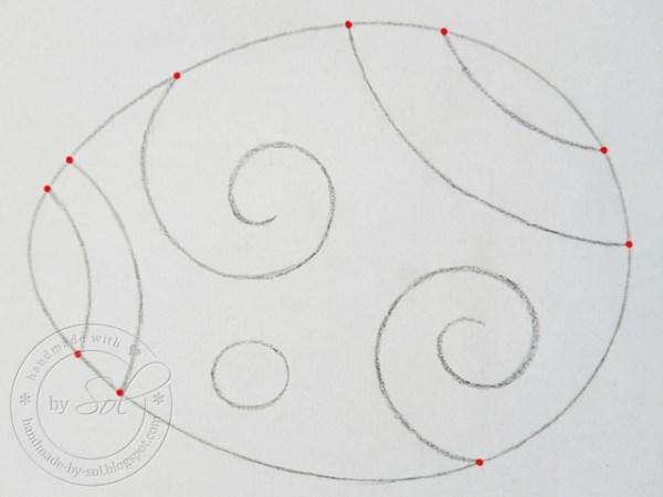 własny wzór - drugi etap tworzenia