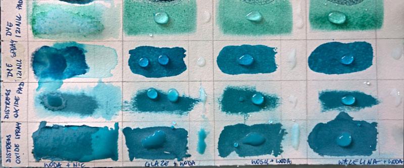 MicroGlaze, wosk bezbarwny i wazelina - blok techniczny 3