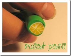 , Wzór okrągły – limonka