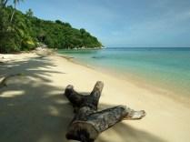 Petani Beach - południe