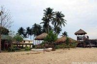Niezapomniana plaża z wieżyczką
