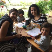 Brasília com crianças: café da manhã na rua