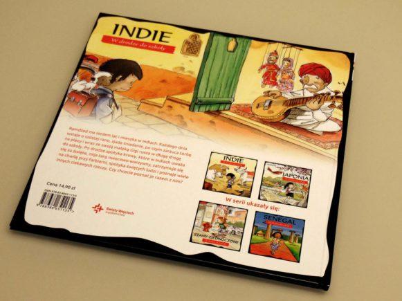 książka indie tył