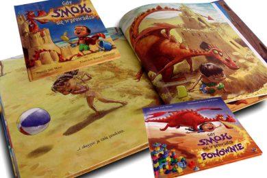 wyobraźnia książka gdy smok się wprowadza ponownie glowne