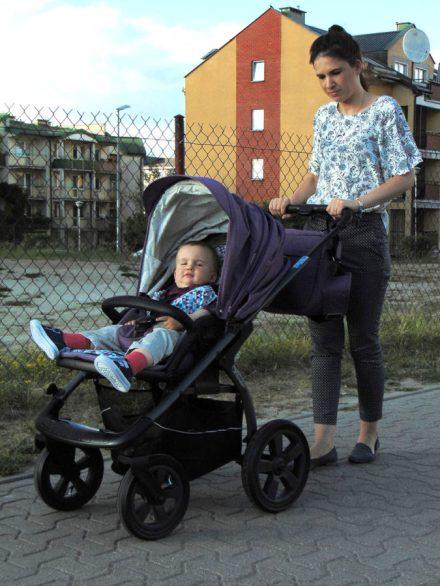 wózek dziecięcy x-lander tryb miejski