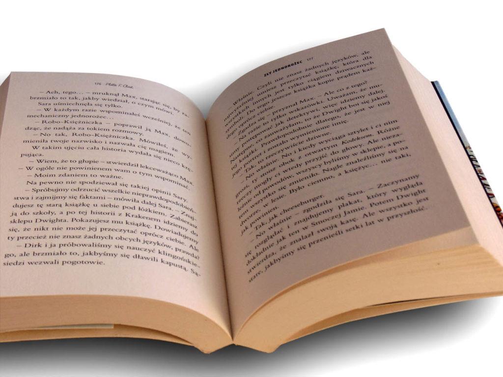 zły jednorożec książeczka