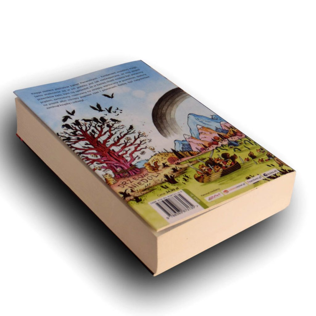 ksiązka zły jednorożec