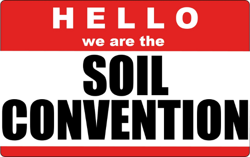 Hello we are the Soil Convention