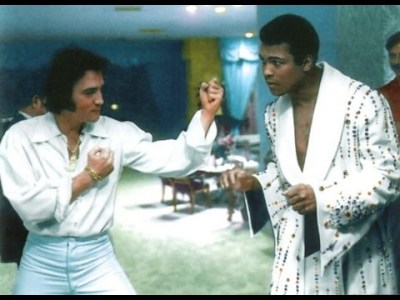 Elvis Presley - met Muhammad Ali on February 14 (1973)