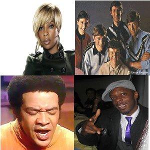 Bill Withers - Zingt niet over regen, Mary J. Blige, The Fortunes en Ice MC wel