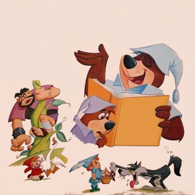 Various Artists - Yogi Bear and Boo Boo Tell Stories of Little Red Riding Hood and Jack and the Beanstalk (1965)