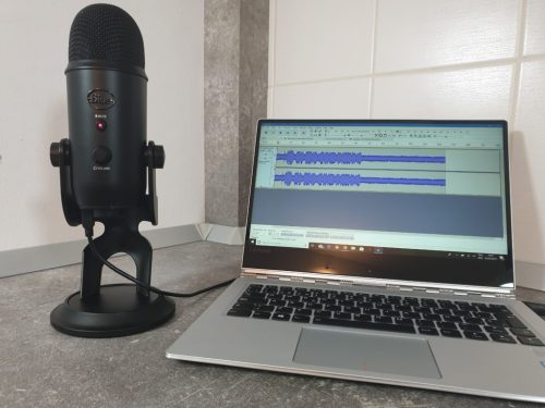 Blue yeti review microfon podcasturi