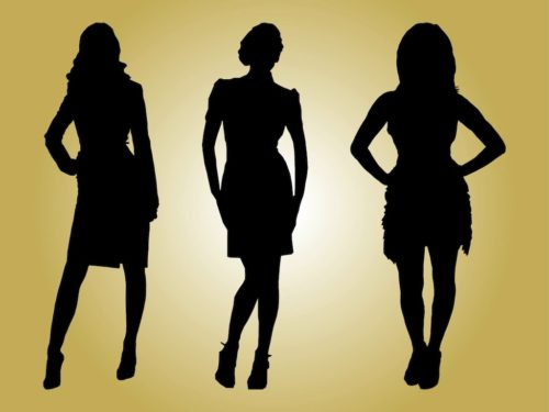 Fashion-Models-Silhouettes