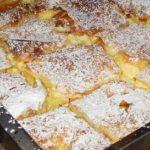 Nagyon ízletes, és könnyen elkészíthető! Joghurtos citromos szelet, 30 perc alatt elkészül!