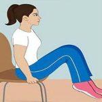 Szabadulj meg a hasi zsíroktól ülés közben, diéta nélkül, ezzel az 5 gyakorlattal.