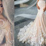 Hát ez valami meseszép! A 2017. év legdivatosabb esküvői ruhái