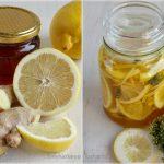 Csodaszer torokfájás ellen: Gyömbéres-citromos méz kakukkfűvel!