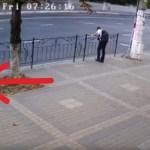 Léteznek őrangyalok? A 15-ik másodpercnél a biztonsági kamera megadja a választ!