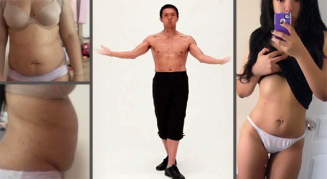 Ezzel a Japán módszerrel levághatod magadról a felesleges zsírokat - Csak 2 perc, és bárhol elvégezhető (+VIDEO)