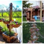 A legszebb virágdekorációk, amelyek minden kertet, vagy teraszt káprázatossá tesznek!