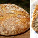 5 perc a munka, 30 perc sütés! Villámgyors házi kenyér dagasztás, kelesztés nélkül!