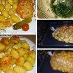 Sütőzacskóban sült fokhagymás burgonya, tökéletes köret lehet minden húsos étel mellé