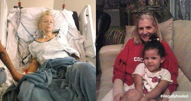 Végstádiumú rákos beteg volt, és egyetlen olaj kiűzte szó szerint a rákot a testéből