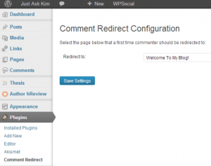 Comment-Redirect