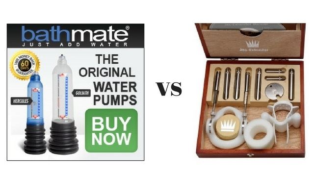 Bathmate vs Jes-extender