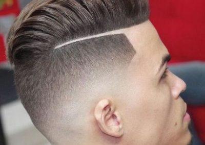Corte pelo hombre fade