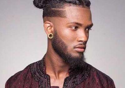 peinado pelo rizado hombre
