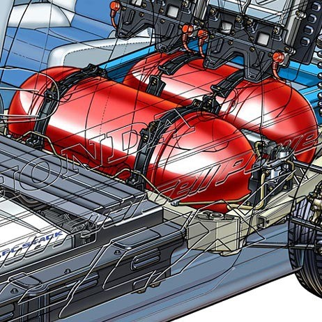01-fuel cell car-hydrogen-tanks