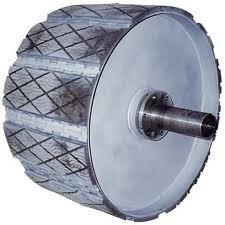 01-types of pulley-welded steel pulley-grooved lagging-belt conveyor drive-belt conveyor resistance-belt wrapping over pulleys