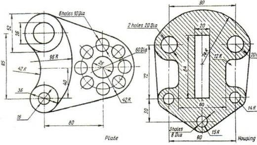 03-AutoCAD Tutorial Download-autocad drawings-design-exercises