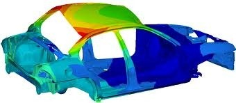 Altair NVH software, NVH test result of a car