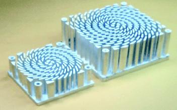 01-Heat Sink By Liquid Metal Forging