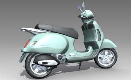 01Prototype3DmodelScooter