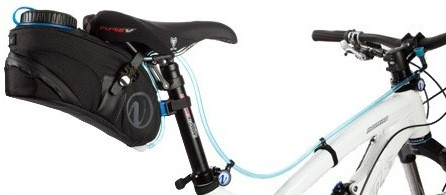 03-The Future Of Bicycling Hydration, Bicycle Mounted Hydration System, Hydration System Mounts On The Bicycle Rear