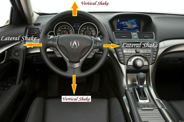 Vehicle Shake - Steering wheel shake - Vibration in steering wheel - Vertical shake - Lateral shake