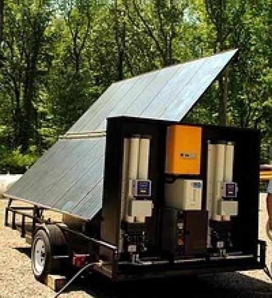01-Portable Solar Power - Solar Hydrogen Powered Water Purifier-New Hydra Tranportable Water Purifier