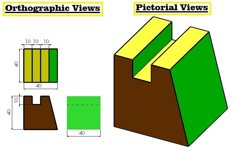 01-autocad-orthographic-drawing-exercises