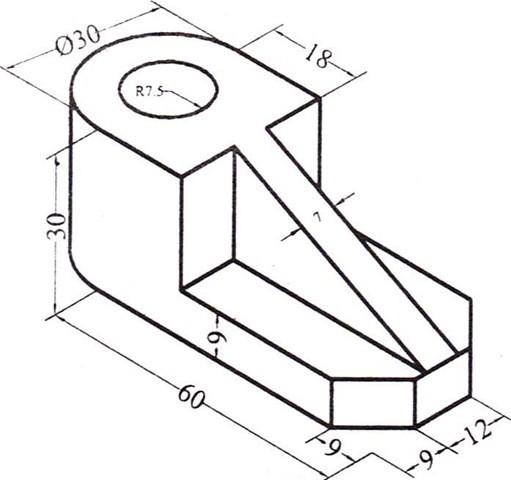 01-Free Autocad Drawings-Free Autocad Exercises-Free Autocad Blocks