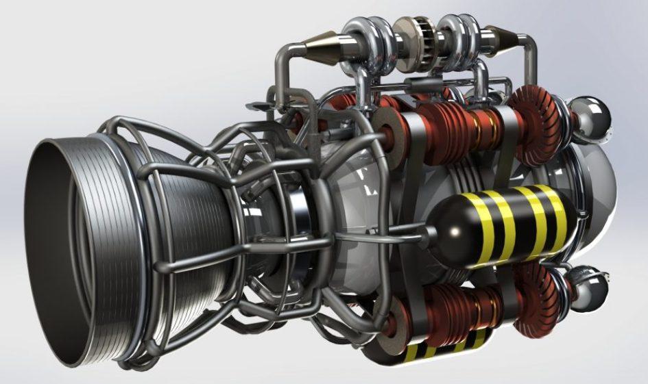 8A295 01 Rocket Engine | Blogmech.com