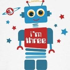 01-Robot Design Shirts