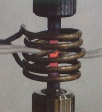 01-induction copper coil - copper inductors - water cooled induction heater