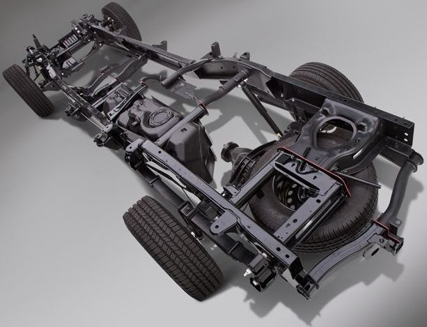 03-Frame Chassis-Car Chassis-Chassis Parts-Chassis Frame Bench-Frame Rails-Auto Chassis