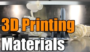What Materials Can Be 3D Printed | New Flexible 3D Printing Material | 3D Printer Material Strength